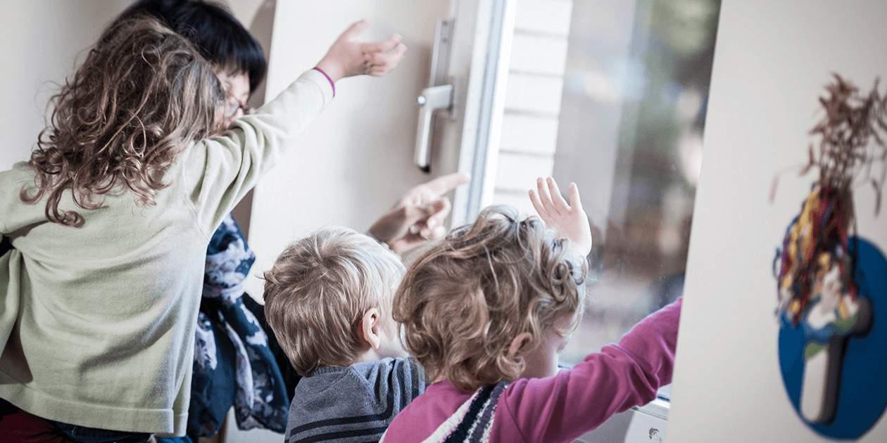 Bei der Eingwöhnung wird sehr achtsam mit den Kindern umgegangen